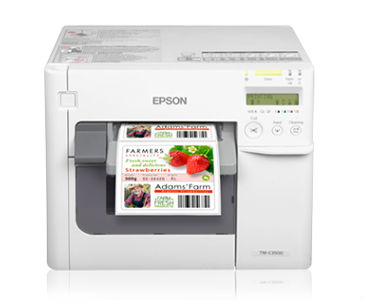 Epson C3500 Color Label Printer 2