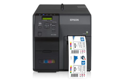 Printer for glossy labels