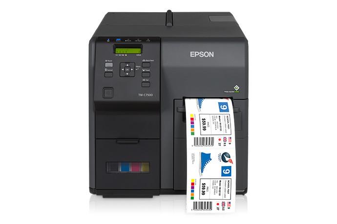 ColorWorks C7500G Inkjet Label Printer